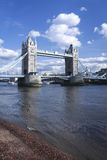 Kontrollturmbrücke die Themse London Großbritannien Lizenzfreie Stockfotos