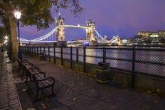 Kontrollturmbrücke in London Lizenzfreie Stockfotografie