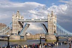 Kontrollturmbrücke in London Lizenzfreies Stockbild