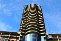 Kontrollturmgebäude im Bau Stockfotos
