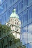Kontrollturmreflexion Lizenzfreies Stockbild