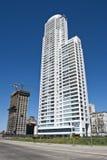 Kontrollturmwohnungen Stockfoto