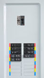 kontrolni elektryczni panel Obraz Stock