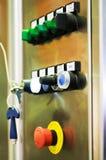 kontrolny maszynowy panel Obrazy Stock