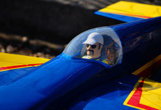kontrolny pilota samolotu pilot Obraz Royalty Free