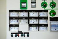 Kontrolny pokój zdjęcia stock