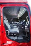 Kontrolny pokój ciężka ciężarówka Fotografia Stock