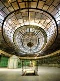 Kontrolny pokój zaniechana elektrownia Obraz Royalty Free