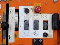kontrolny stary panel Fotografia Royalty Free