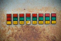 kontrolnych dane przyrządu cyfrowego wkładu maszyny zarządzania panelu narzędzia Fotografia Royalty Free