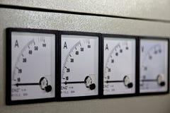 kontrolnych dane przyrządu cyfrowego wkładu maszyny zarządzania panelu narzędzia Obraz Royalty Free