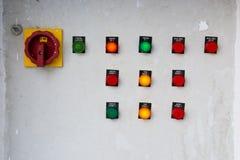 kontrolnych dane przyrządu cyfrowego wkładu maszyny zarządzania panelu narzędzia Obrazy Stock
