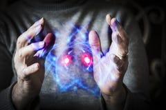Kontrolować energię atomową Fotografia Stock