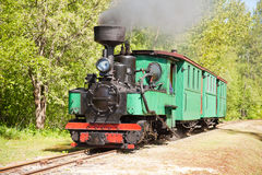 kontrpara parowozowy stary pociąg Obraz Stock