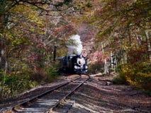 Kontrpara Zasilający pociąg Zdjęcie Royalty Free