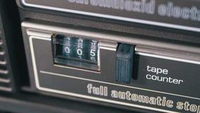 Kontuar audio kaseta w taśma pokładu pisaku jest płodozmienny zbiory wideo