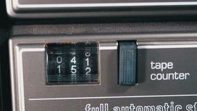 Kontuar audio kaseta w taśma pokładu pisaku jest płodozmienny zbiory