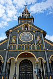 Kontum wooden church, ancient cathedral, heritage Royalty Free Stock Image