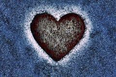 Kontur av hjärtan Royaltyfri Bild