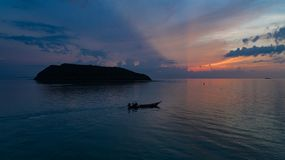 Kontur vid havet Royaltyfria Bilder
