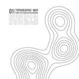 Konturbakgrund för Topographic översikt Topo-översikt med höjd Vektor för konturöversikt Geografiskt raster för världstopografiöv vektor illustrationer