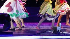 Konturer av dansen stock video