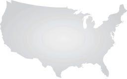 konturowej mapy kontur twierdzić usa Obraz Royalty Free