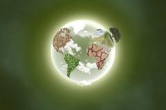 kontynent planeta Zdjęcia Stock