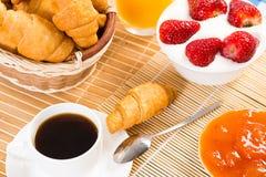 Kontynentalny śniadanie Fotografia Royalty Free