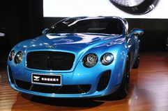 kontynentalny bentley supersport Obrazy Royalty Free