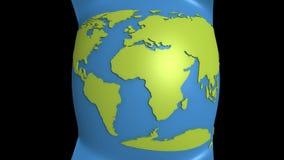 Kontynentalny dryf ilustracji