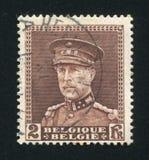 Konung Albert som skrivs ut av Belgien Royaltyfria Bilder