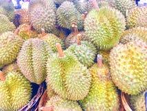 Konung av frukt ny frukt för durian Konung av frukt Royaltyfria Bilder