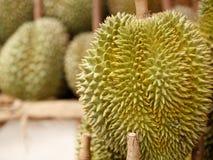 Konung av fruktdurianen från Thailand Arkivfoto