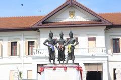Konung av monumentet för tre konungar Royaltyfria Bilder