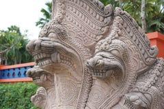 Konung av Nagas i nordliga Thailand royaltyfria bilder