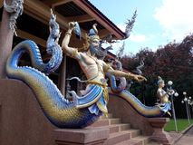 Konung av Nagas Naakee Lamia Legend royaltyfri fotografi