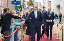 Konung av Nederländerna Arkivbild