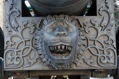 Konung Cannon i MoskvaKreml Färgfoto Arkivfoton