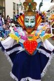 Konung Carnival Arkivfoto