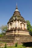Konung Chedi, Chiang Mai Royaltyfri Fotografi