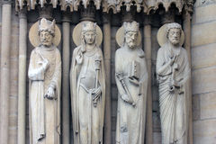 Konung drottningen av Sheba, konung Solomon och St Peter Royaltyfri Bild