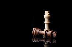 Konung för schack två Arkivbild