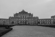 Konung för villaStupinigi uppehåll av Savoia Turin royaltyfria bilder