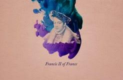 Konung Francis II av Frankrike vektor illustrationer
