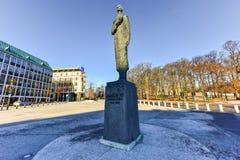 Konung Haakon VII av Norge Royaltyfria Bilder