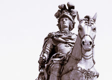 Konung On Horseback royaltyfria bilder