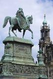 Konung John av Sachsen Royaltyfria Foton