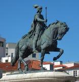Konung John I av Portugal Arkivbilder