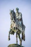 Konung John Statue Dresden Fotografering för Bildbyråer